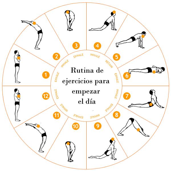 Rutina ejercicios para comenzar el d a aprende fitness - Ejercicios cardiovasculares en casa ...